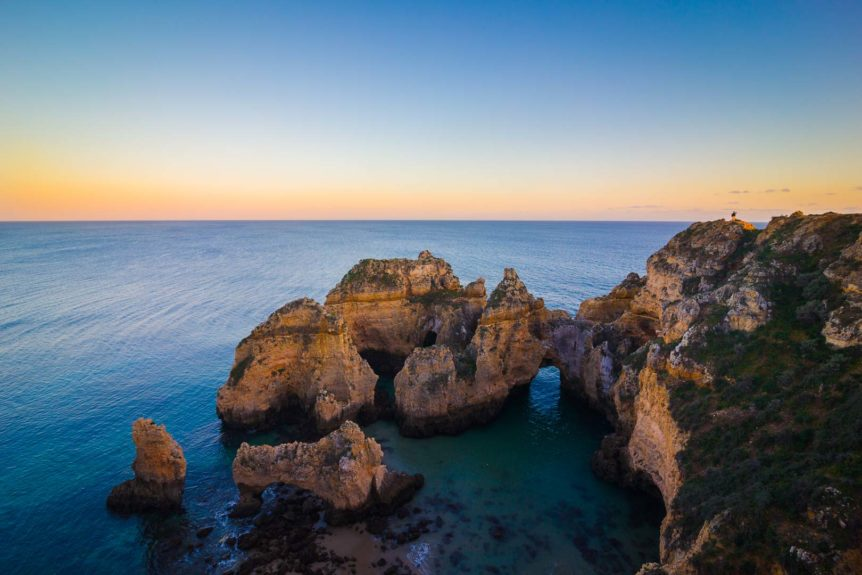 One of the most stunning beaches in the Algarve