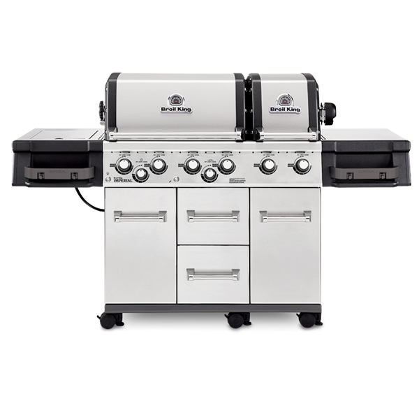Broil King grill with side burner