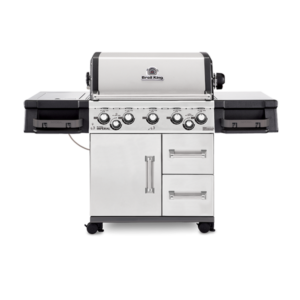 Broil King grill in white