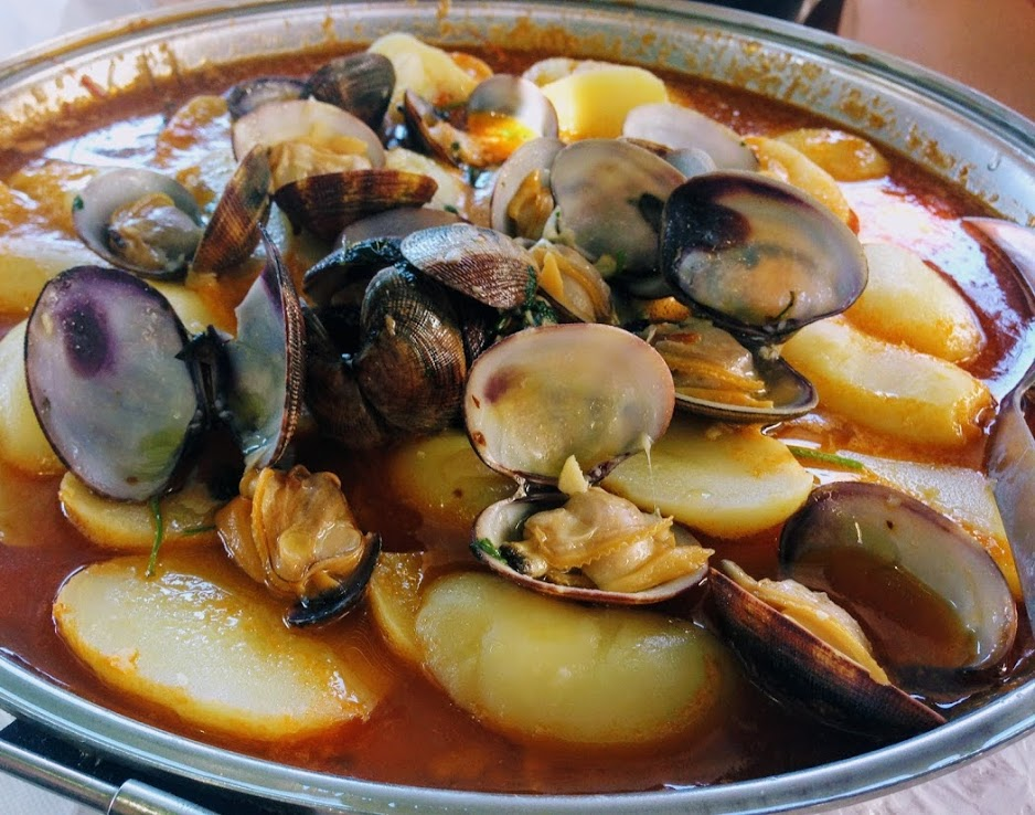 The Cataplana dish is a must in the Algarve during summer