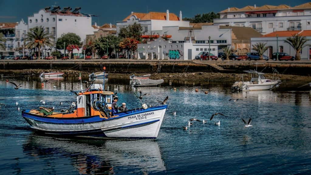 Visit Tavira in the Algarve during summer