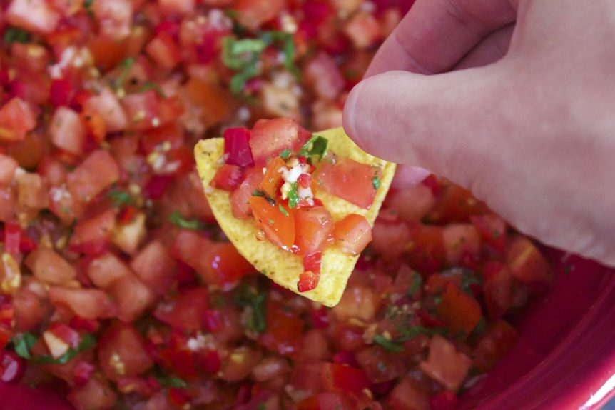Pico de gallo recipe for grilled meat