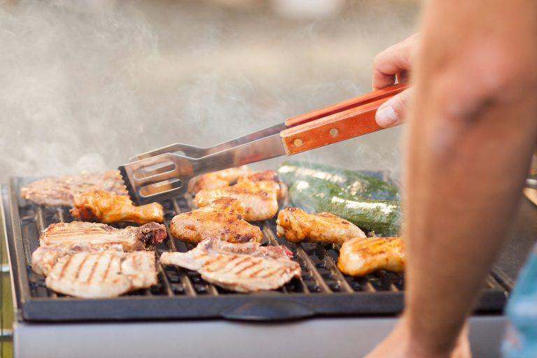 chicken to have a healthier barbecue