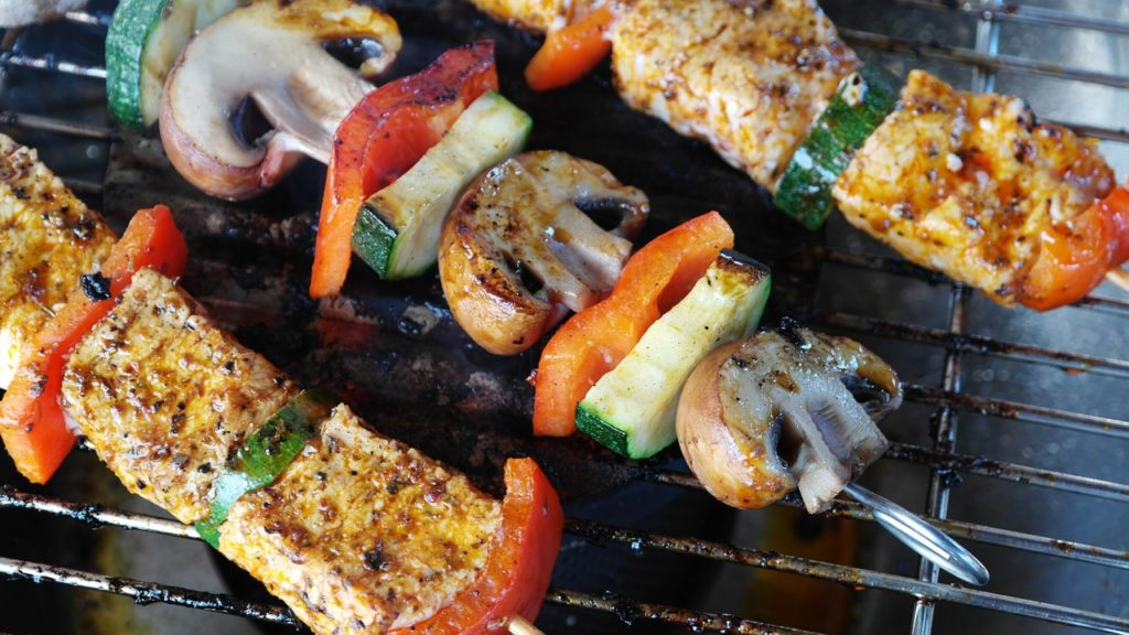 Veggies to have a healthier barbecue