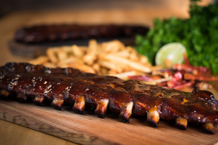 maple smoked pork ribs recipe