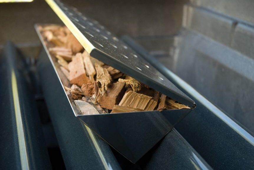 metal box to smoke on a gas grill