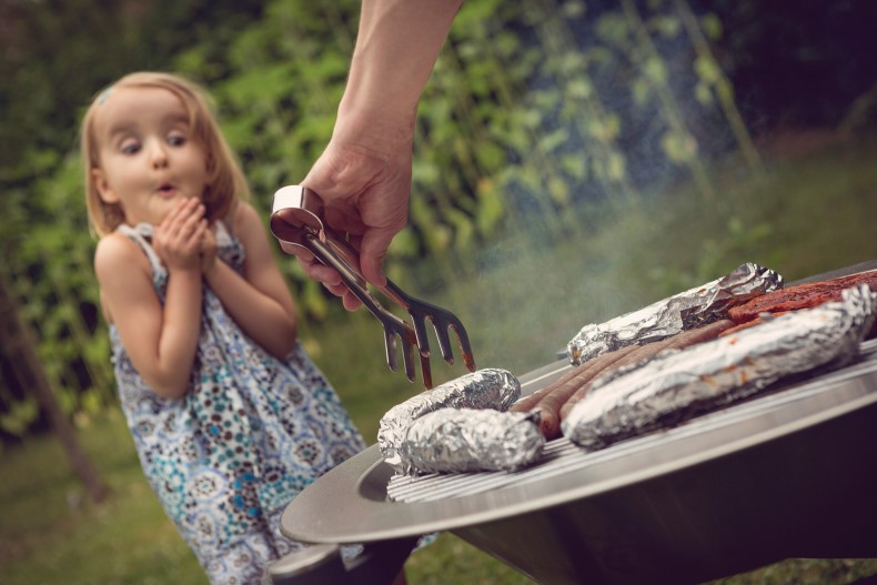 grilling with your kids: safety and maintenance