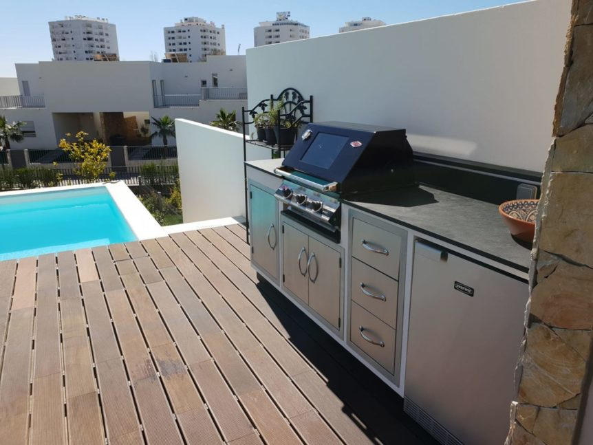 Outdoor kitchen ideas in Algarve