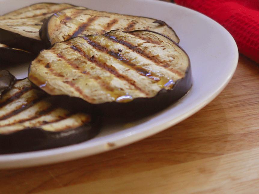perfect grilled aubergine recipe